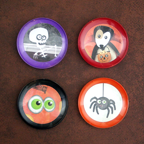 Two-Inch Halloween Magnets