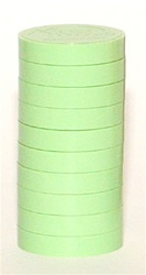 "1"" Magnetic Status Markers - LIGHT GREEN 10-Pack"