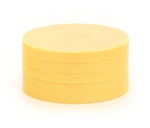 "2"" Magnetic Status Markers - YELLOW Five Pack"