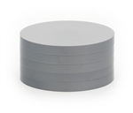 "2"" Magnetic Status Markers - DARK GRAY Five Pack"