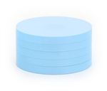 "2"" Magnetic Status Markers - LIGHT BLUE Five Pack"