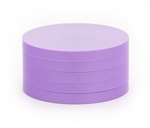 "2"" Magnetic Status Markers - MEDIUM PURPLE Five Pack"