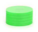 "2"" Magnetic Status Markers - MEDIUM GREEN Five Pack"