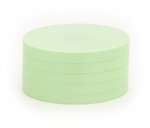 "2"" Magnetic Status Markers - LIGHT GREEN Five Pack"
