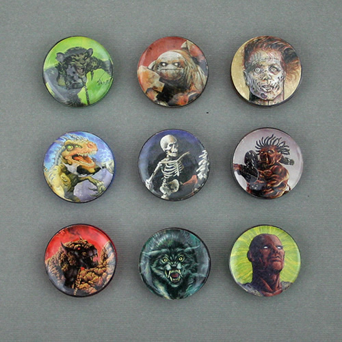 One-Inch Monster Tokens